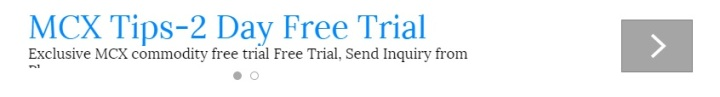Commodity Free Trial Tips on Mobile